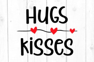 Hugs and Kisses Svg Graphic Crafts By kaoticsvgdesigns