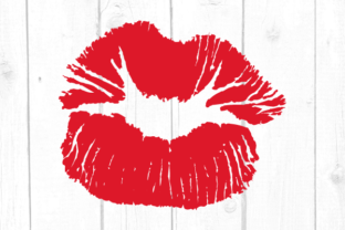 Kiss Svg Graphic Crafts By kaoticsvgdesigns