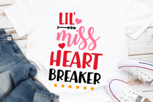 Lil Miss Heart Breaker Svg Graphic Crafts By kaoticsvgdesigns