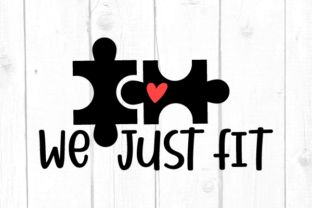 We Just Fit Svg Graphic Crafts By kaoticsvgdesigns
