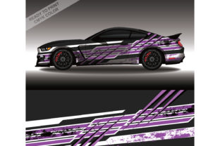 Wrap Car Decal Design Vector Livery Race Grafik Druck-Templates von 21graphic