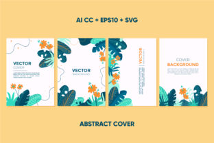 Abstract Cover with Nature Concept Graphic Graphic Templates By abworks