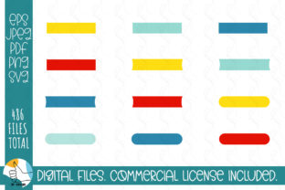 121 Ribbons SVG Bundle. Ribbons, Labels Graphic Crafts By OK-Design 2