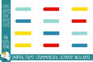 121 Ribbons SVG Bundle. Ribbons, Labels Graphic Crafts By OK-Design 3