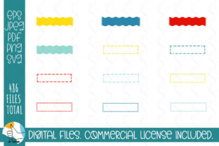 121 Ribbons SVG Bundle. Ribbons, Labels Graphic Crafts By OK-Design 4
