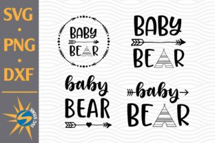 Print on Demand: Baby Bear Graphic Crafts By SVGStoreShop