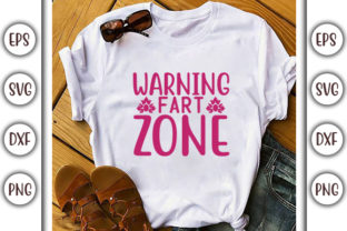 Print on Demand: Bathroom Design, Warning – Fart Zone Graphic Print Templates By GraphicsBooth