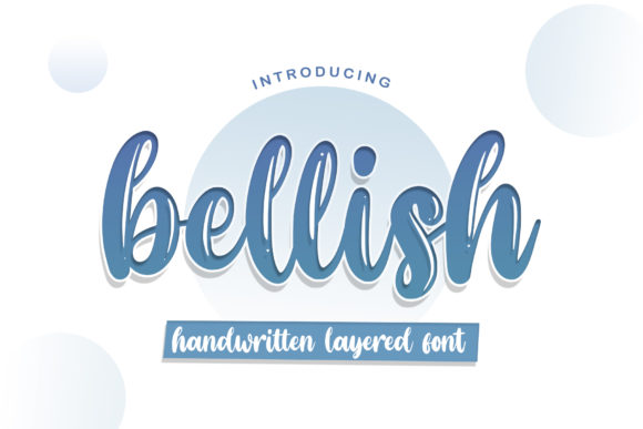 Print on Demand: Bellish Script & Handwritten Font By RochArt
