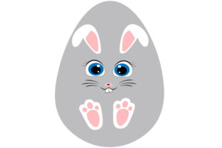 Bunny Face, Easter Bunny Face Svg, Rabb Graphic Illustrations By Lillyrosy