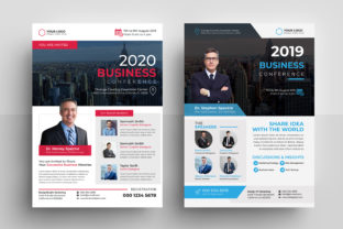 Business Conference Flyer Template Graphic Print Templates By firozahamed2028