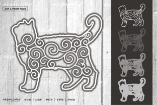 Print on Demand: Cat #15 Vector SVG 3D Layered Graphic 3D SVG By Ahsancomp Studio