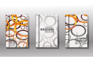 Cover Book with Circle or Ring Graphic Graphic Templates By Artnoy