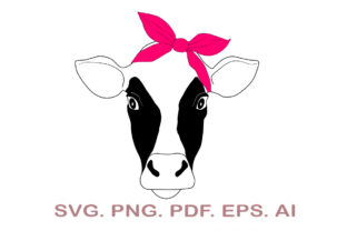 Cow Head SVG Graphic Crafts By NarCreativeDesign