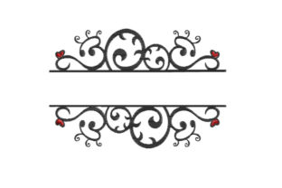 Frame Borders Embroidery Design By SweetDesign