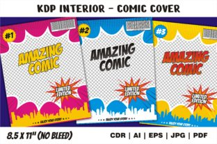 Print on Demand: KDP Interior Amazing Comic Cover Graphic KDP Interiors By edywiyonopp