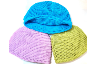 Reversible Ribbed Beanie Graphic Crochet Patterns By myoumaralie