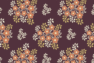 Seamless Flower Pattern Design Graphic Patterns By sabbirahmed012