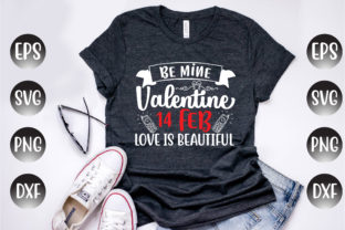 Print on Demand: Valentine's Day Design, Be Mine... Graphic Print Templates By Design Store Bd.Net