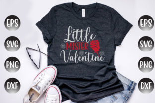 Print on Demand: Valentine's Day Design, Little Mister... Graphic Print Templates By Design Store Bd.Net