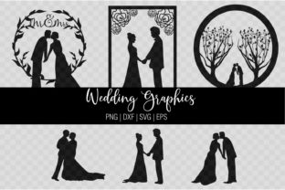 Print on Demand: Wedding Couple Graphic Crafts By amanda.zoss