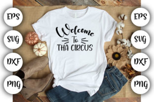 Print on Demand: Welcome to the Circus Graphic Print Templates By Design_store