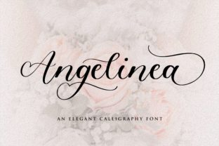 Print on Demand: Angelinea Script & Handwritten Font By Balpirick