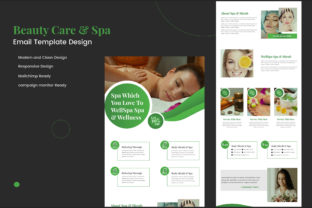 Business Mailchimp Ready Email Template Graphic Web Elements By muhammadimu2322