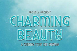 Print on Demand: Charming Beauty Display Font By edwar.sp111