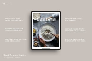 Print on Demand: Ebook Template Food 23 Pages Graphic Presentation Templates By designfetchstudio
