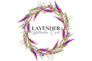 Lavender Circle Graphic Web Elements By Monogram Lovers