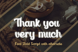 Print on Demand: Melted Chocolate Display Font By edwar.sp111 5