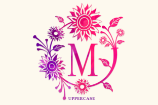 Print on Demand: Morina Monogram Decorative Font By utopiabrand19