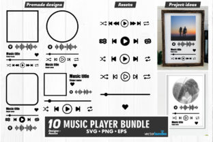 Music Player Acrylic Template Svg Graphic Crafts By vectorbundles
