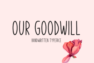 Print on Demand: Our Goodwill Script & Handwritten Font By Seemly Fonts