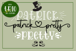 Print on Demand: Patrick Pretty Script & Handwritten Font By Fillo Graphic