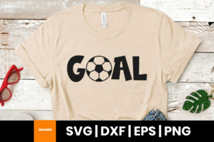 Print on Demand: Soccer Goal Svg Quote Graphic Print Templates By Maumo Designs