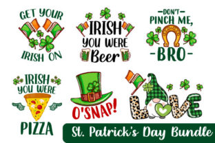 Print on Demand: St. Patrick's Day Bundle Graphic Print Templates By TeeStoreFinds