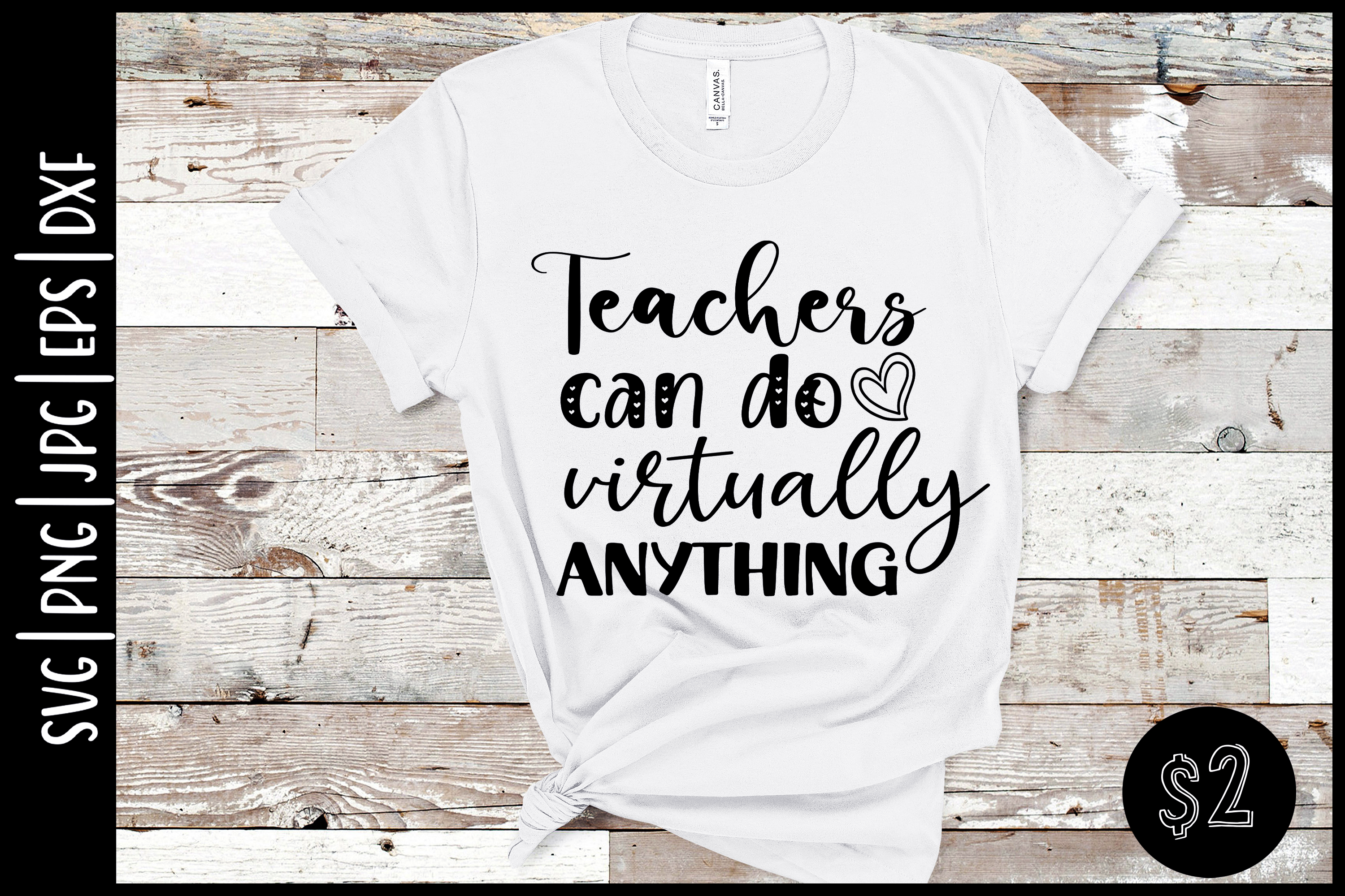 Teachers Can Do Anything SVG File