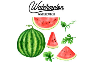 Watermelon Graphic Web Elements By Monogram Lovers