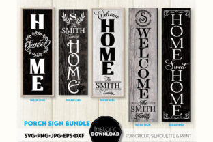 Welcome Sign, Farmhouse Sign Graphic Crafts By March Design Studio