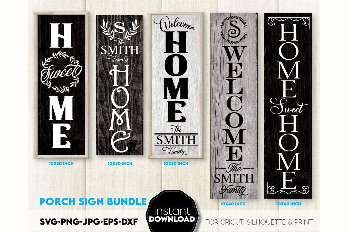 Welcome Sign, Farmhouse Sign SVG File