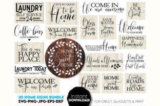 Welcome Sign Farmhouse Sign Graphic Crafts By March Design Studio