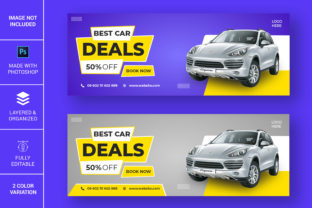 Car Deal Facebook Banner Design Graphic Web Templates By Pdstock