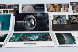 Exposure - Photography Keynote Template Graphic Presentation Templates By Unicode Studio