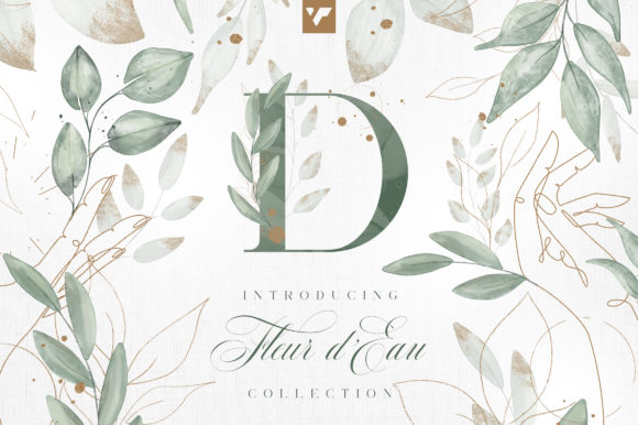Print on Demand: Fleur D'Eau Graphic Collection Graphic Illustrations By vladfedotovv