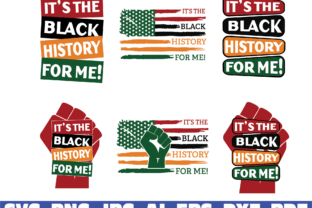 It's the Black History for Me Graphic Illustrations By dodo2000mn1993