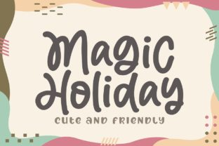 Print on Demand: Magic Holiday Display Fuente Por Subectype