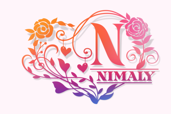 Print on Demand: Nimaly Decorative Font By Situjuh