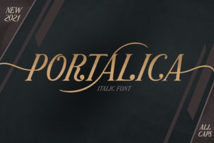 Print on Demand: Portalica Serif Font By letterhend