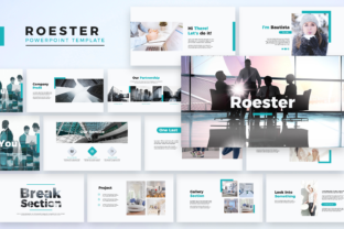 Roester  - Powerpoint Template Graphic Presentation Templates By Unicode Studio